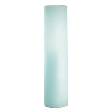 Lampadaire Fluo - Slide blanc en matière plastique