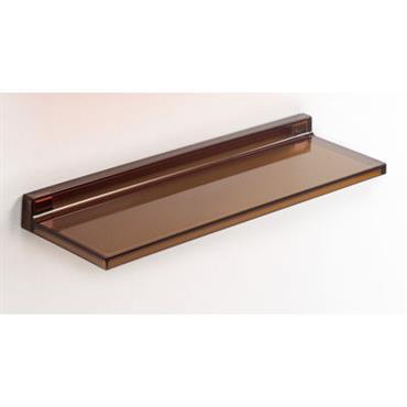 Etagère Shelfish / L 45 cm - Kartell ambre en matière plastique
