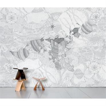 Papier peint panoramique Wholearth / 8 lés - L 372