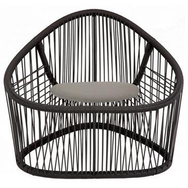 Coussin d´assise / Pour fauteuil Club - Zanotta Beige en Tissu
