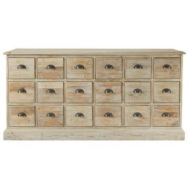 Comptoir en bois recyclé L 170 cm Lausanne