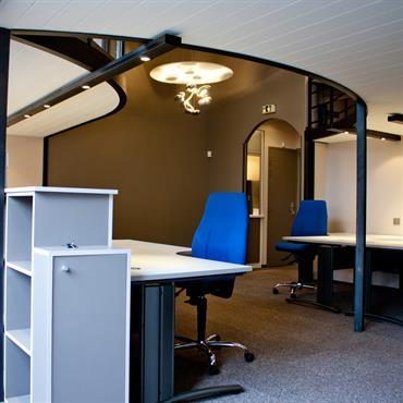 Bureaux en open space