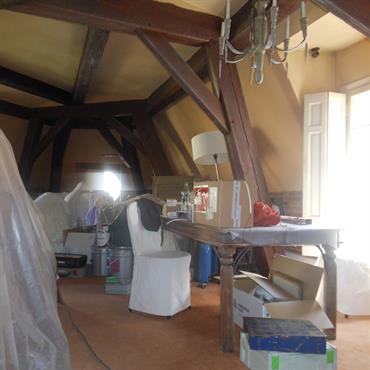 Rénovation sous les toits