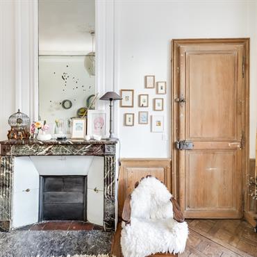 Chambre authentique avec confort maximal