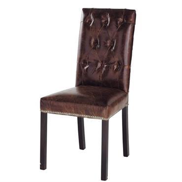 Un air de modernité dans un univers classique ou très déco dans une salle à manger contemporaine, la chaise de table ELISABETH s'intègrera parfaitement dans votre décor. Très confortable, cette ...