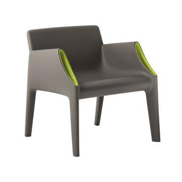 Chaise Magic Hole intérieur / extérieur - Kartell gris
