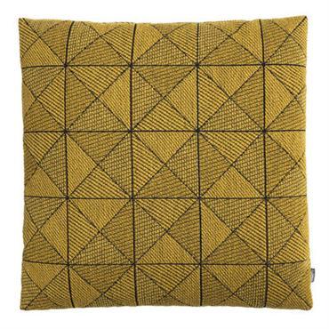 Coussin Tile / 50 x 50 cm - Muuto Jaune