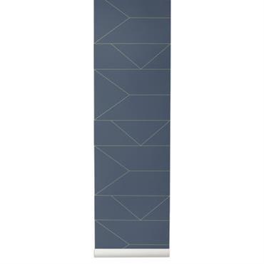 Papier peint Lines / 1 rouleau - Larg 53 cm