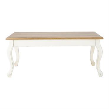 Table basse crème L110 Léontine