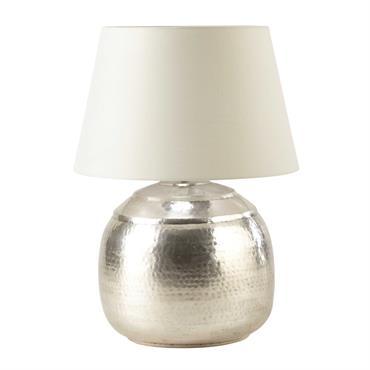 Lampe en métal ciselé H 68 cm SAOURA
