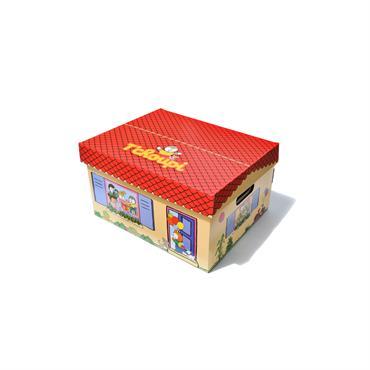 T'choupi Coffre à jouets en carton
