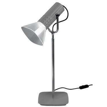 Lampe de table Fiamma / H 54 cm - Artemide gris métallisé