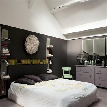 Chambre moderne tendances nouveaut s et photos domozoom for Lit parental moderne