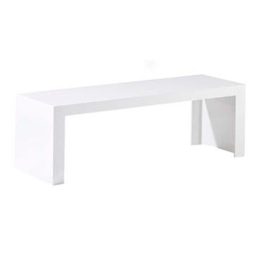 Console basse Invisibles Side L 120 x H 40 cm - Kartell