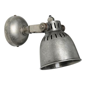 Applique indus en métal effet vieilli