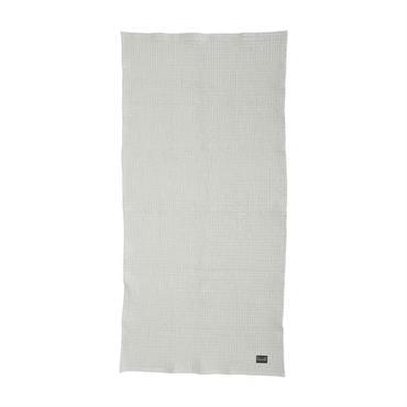 Serviette Organic / 100 x 50 cm - Ferm Living gris clair