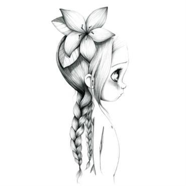 Tableau Wild girl 05