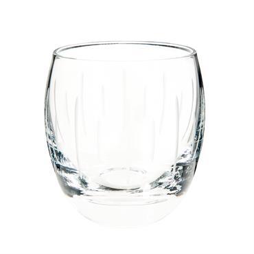 Gobelet taillé en verre GRAPHIQUE