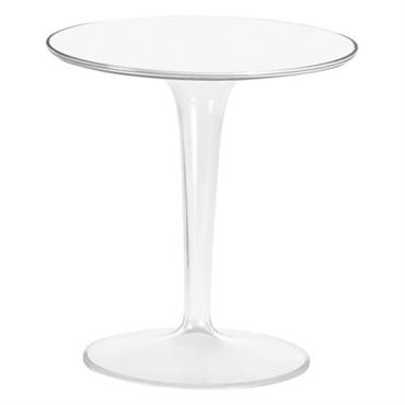 Table d´appoint Tip Top / Plateau PMMA - Kartell blanc laqué