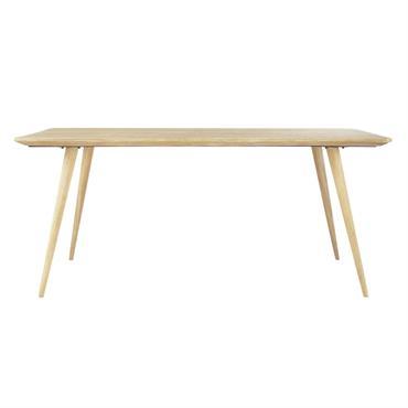 Avec son bois clair et lumineux, cette table à manger TROCADERO créera une ambiance chaleureuse et conviviale dans votre intérieur. Clin d'œil au design des années 50, cette table en ...