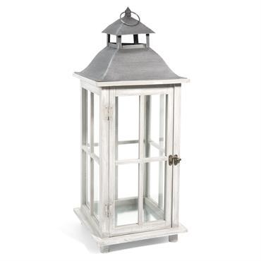 Lanterne en bois H 65 cm ARHUS
