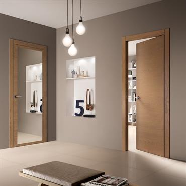 EQUA Finition : Ecorovere Oro Habillage : Evoluto Option Miroir.