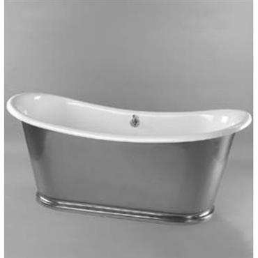 Baignoire ovale / en fonte BATEAU
