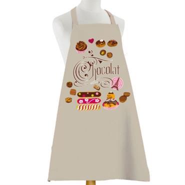 Tablier Eclairs au Chocolat TORCHONS & BOUCHONS