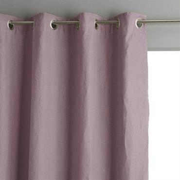 Rideau coton lin lavé Flandres LABELISSIM
