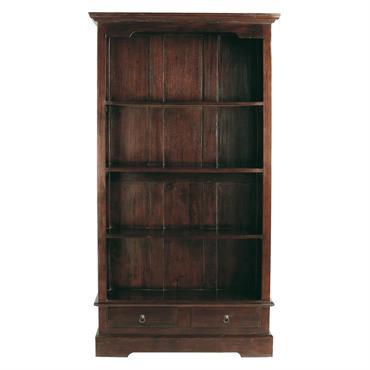 Bibliothèque en mahogany massif L 98 cm Cubana