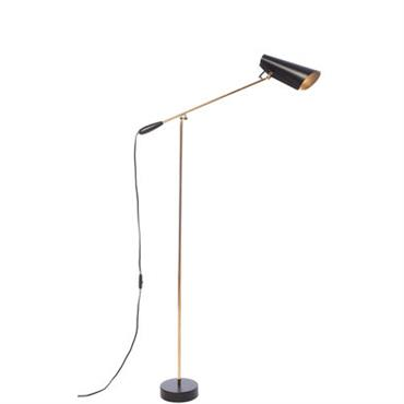 Lampadaire Birdy / H 133 cm - Réédition 1952 - Northern Lighting noir