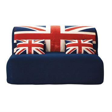 Housse de canapé BZ imprimée Union Jack en coton Elliot