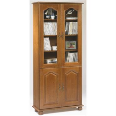 Bibliothèque Cluzel 4 portes