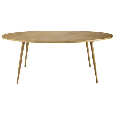 Table à manger ovale 8 personnes L200 Origami
