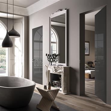 salles de bains grises idée décoration salles de bains grises et ... - Idee Salle De Bain Grise