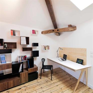 bureaux Chalets Idée déco et aménagement bureaux Chalets - Domozoom