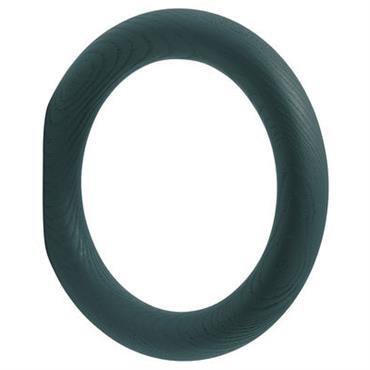 Patère Hay Design Vert foncé Bois Ø 18,2 cm Ludiques, ces patères en bois coloré sinspirent des anneaux de gymnastique. Elles se déclinent en 3 tailles. Le must est de ...