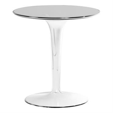 Table d´appoint Tip Top / Plateau PMMA - Kartell cristal en matière plastique