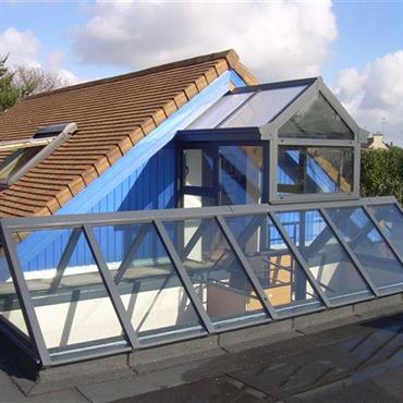 Verrière sur toiture