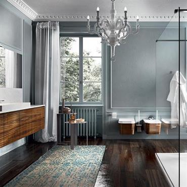 Modernisation d'une salle de bain classique