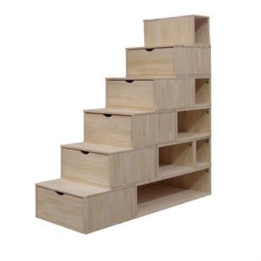 Escalier Cube de rangement 150cm