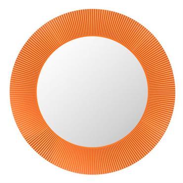 Miroir lumineux All Saints LED / Ø 78 cm - Kartell orange