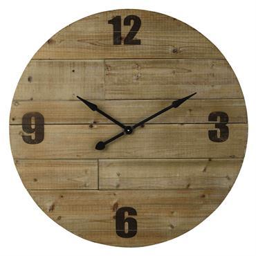 Horloge en bois D 100 cm NORDMANN