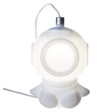 Veilleuse Lightdiver LED / Branchement USB - Pa Design blanc en matière plastique