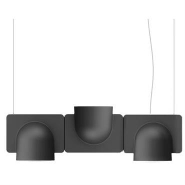 Suspension Igloo 3 LED / L 66 cm - Eclairage direct