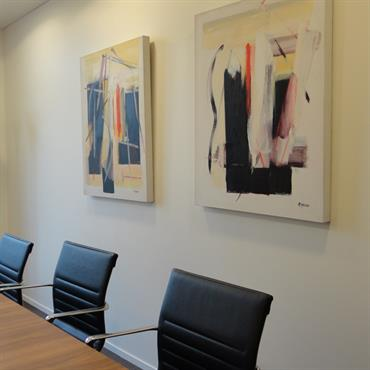 Salle de réunion d'un bâtiment d'entreprise