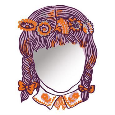 Miroir autocollant Fille / 42 x 31 cm - Domestic miroir