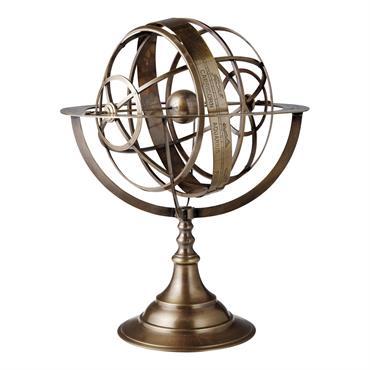 Sphère en métal H 46 cm ECLIPSE