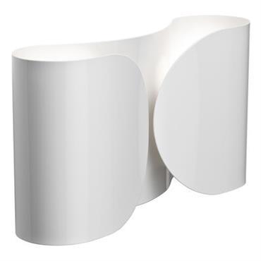 Applique Foglio - Flos blanc en métal