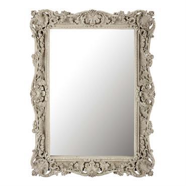 Miroir en résine taupe H 113 cm BÉRÉNICE
